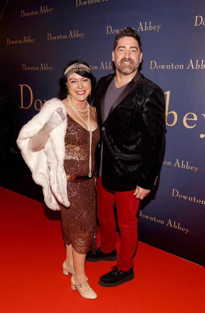 Brian Kennedy and Anne Learmont pictured at the Universal Pictures Irish premiere screening of DOWNTON ABBEY at The Stella Theatre, Rathmines. Releasing in cinemas across Ireland from this Friday September 13th, starring the original cast, the worldwide phenomenon DOWNTON ABBEY, becomes a grand motion picture event.