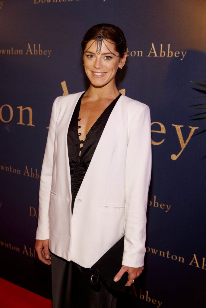 Aoibhinn McGinnity pictured at the Universal Pictures Irish premiere screening of DOWNTON ABBEY at The Stella Theatre, Rathmines. Releasing in cinemas across Ireland from this Friday September 13th, starring the original cast, the worldwide phenomenon DOWNTON ABBEY, becomes a grand motion picture event. Picture Andres Poveda