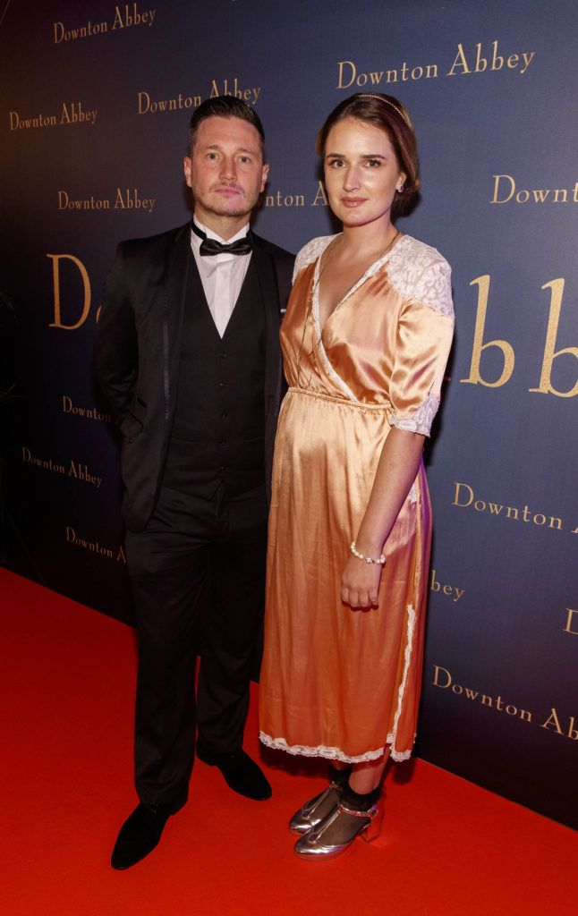 Keith Rock and Charleigh Bailey  pictured at the Universal Pictures Irish premiere screening of DOWNTON ABBEY at The Stella Theatre, Rathmines. Releasing in cinemas across Ireland from this Friday September 13th, starring the original cast, the worldwide phenomenon DOWNTON ABBEY, becomes a grand motion picture event. Picture Andres Poveda