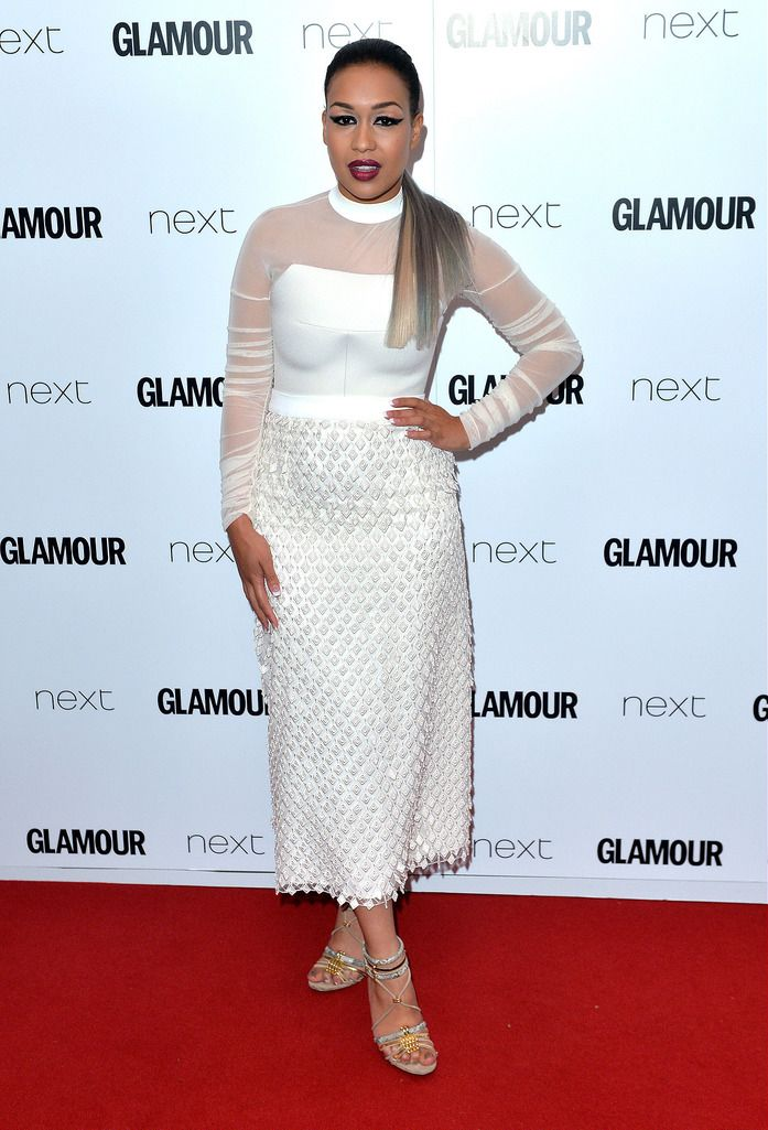 LONDON, ENGLAND - JUNE 02:  Rebecca Ferguson attends the Glamour Women Of The Year Awards at Berkeley Square Gardens on June 2, 2015 in London, England.  (Photo by Anthony Harvey/Getty Images)