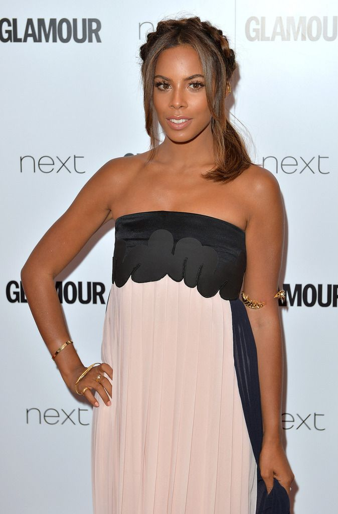 LONDON, ENGLAND - JUNE 02:  Rochelle Humes attends the Glamour Women Of The Year Awards at Berkeley Square Gardens on June 2, 2015 in London, England.  (Photo by Anthony Harvey/Getty Images)
