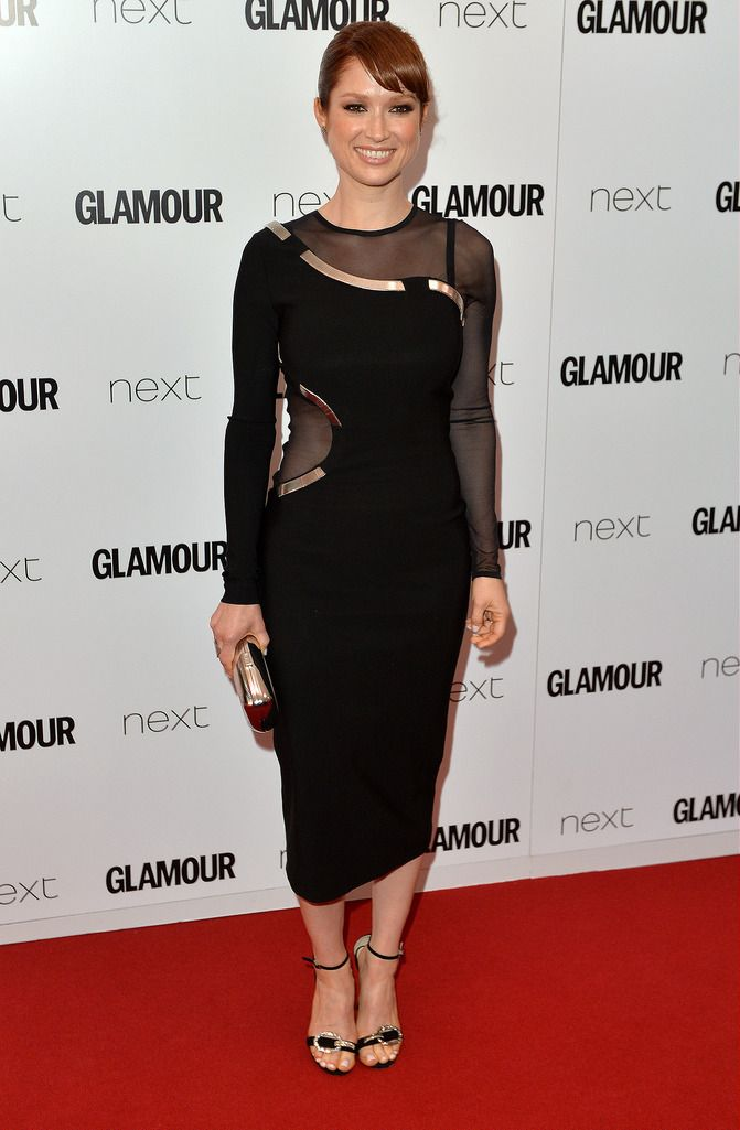 LONDON, ENGLAND - JUNE 02:  Ellie Kemper attends the Glamour Women Of The Year Awards at Berkeley Square Gardens on June 2, 2015 in London, England.  (Photo by Anthony Harvey/Getty Images)