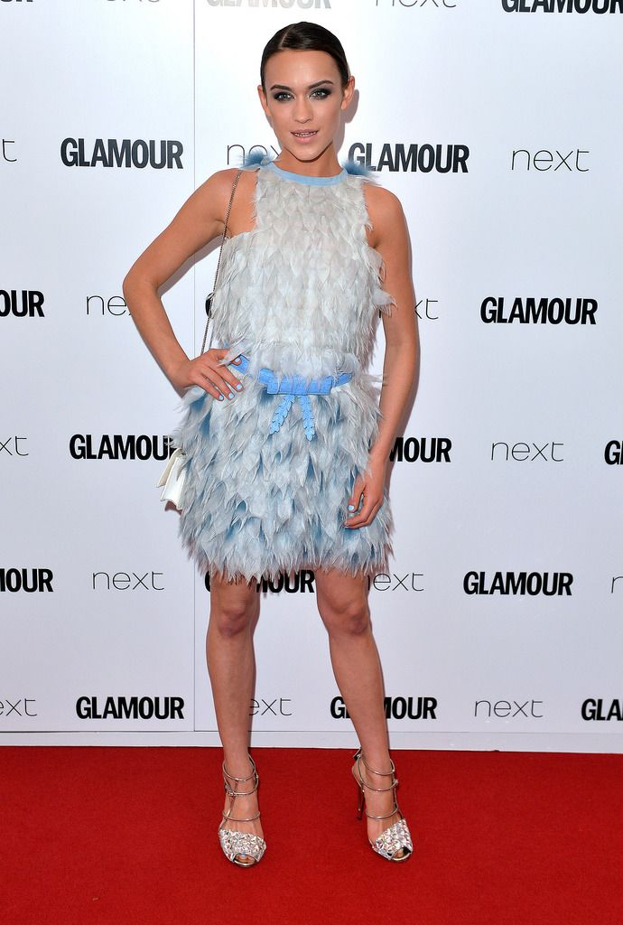 LONDON, ENGLAND - JUNE 02:  Ella Catliff attends the Glamour Women Of The Year Awards at Berkeley Square Gardens on June 2, 2015 in London, England.  (Photo by Anthony Harvey/Getty Images)