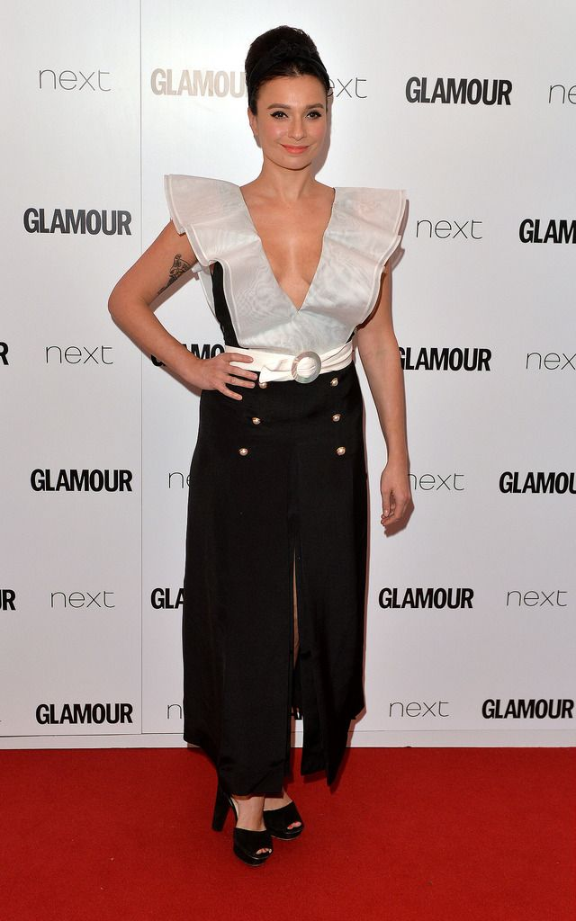 LONDON, ENGLAND - JUNE 02:  Gizzi Erksine attends the Glamour Women Of The Year Awards at Berkeley Square Gardens on June 2, 2015 in London, England.  (Photo by Anthony Harvey/Getty Images)