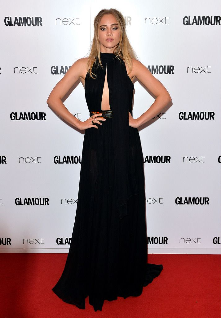 LONDON, ENGLAND - JUNE 02:  Suki Waterhouse attends the Glamour Women Of The Year Awards at Berkeley Square Gardens on June 2, 2015 in London, England.  (Photo by Anthony Harvey/Getty Images)