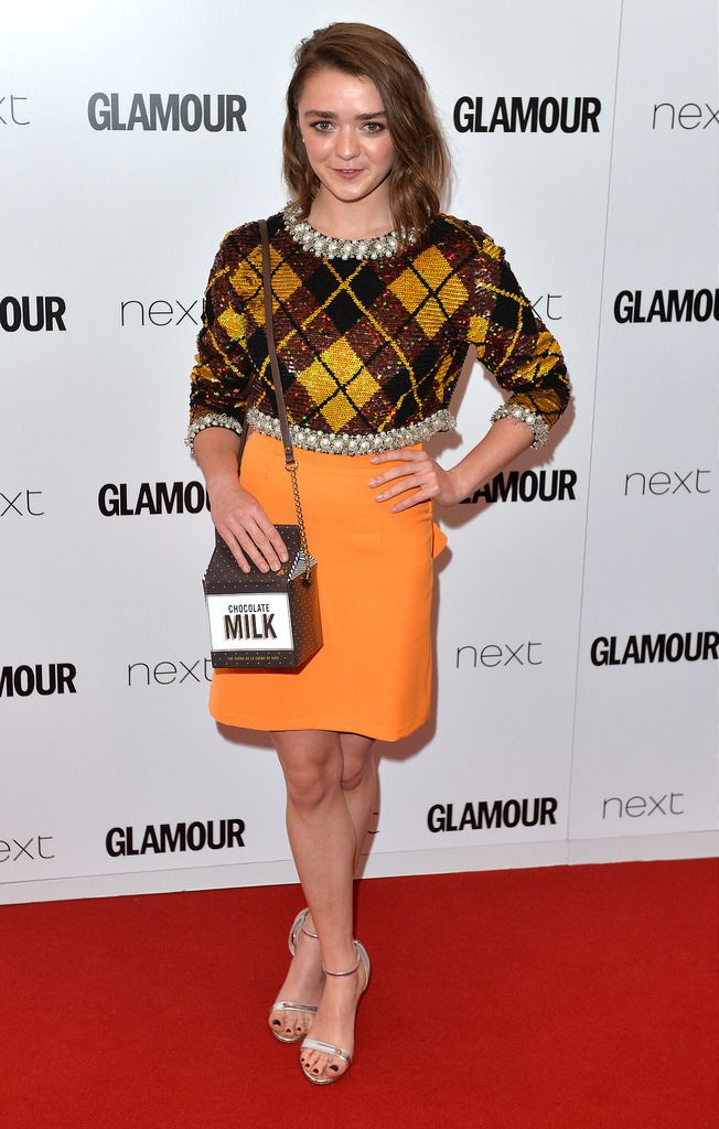 LONDON, ENGLAND - JUNE 02:  Maisie Williams attends the Glamour Women Of The Year Awards at Berkeley Square Gardens on June 2, 2015 in London, England.  (Photo by Anthony Harvey/Getty Images)