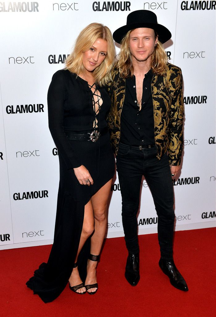 LONDON, ENGLAND - JUNE 02:  Ellie Goulding and Dougie Poynter attend the Glamour Women Of The Year Awards at Berkeley Square Gardens on June 2, 2015 in London, England.  (Photo by Anthony Harvey/Getty Images)