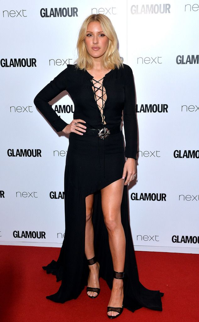 LONDON, ENGLAND - JUNE 02:  Ellie Goulding attends the Glamour Women Of The Year Awards at Berkeley Square Gardens on June 2, 2015 in London, England.  (Photo by Anthony Harvey/Getty Images)