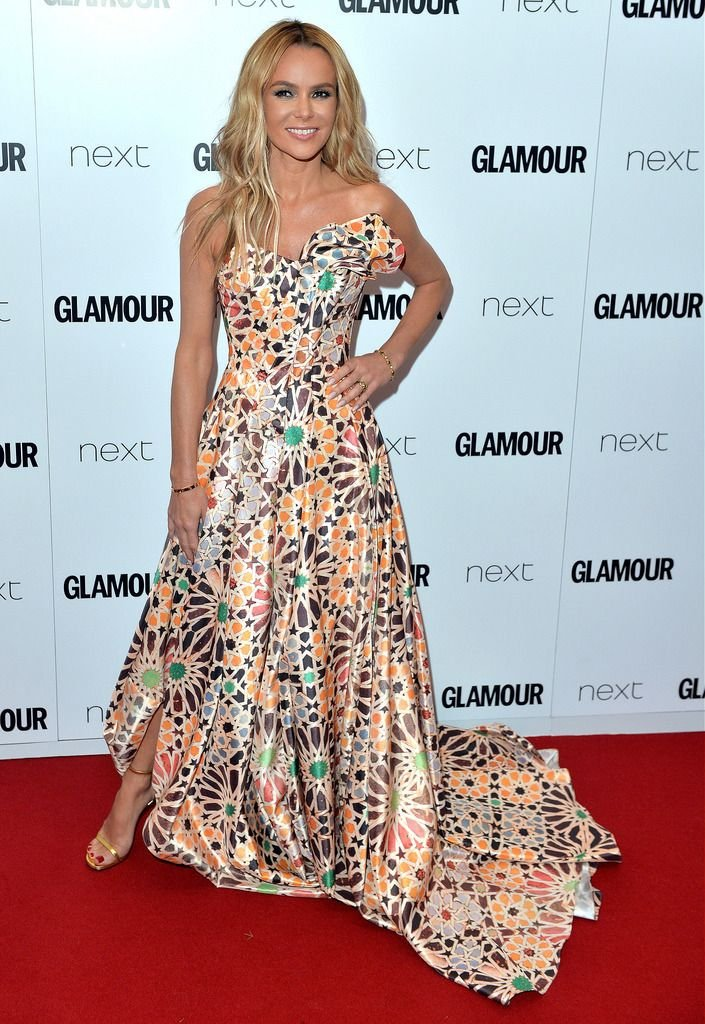 LONDON, ENGLAND - JUNE 02:  Amanda Holden attends the Glamour Women Of The Year Awards at Berkeley Square Gardens on June 2, 2015 in London, England.  (Photo by Anthony Harvey/Getty Images)