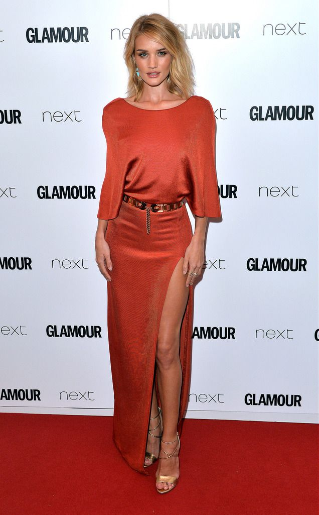 LONDON, ENGLAND - JUNE 02:  Rosie Huntington-Whiteley attends the Glamour Women Of The Year Awards at Berkeley Square Gardens on June 2, 2015 in London, England.  (Photo by Anthony Harvey/Getty Images)