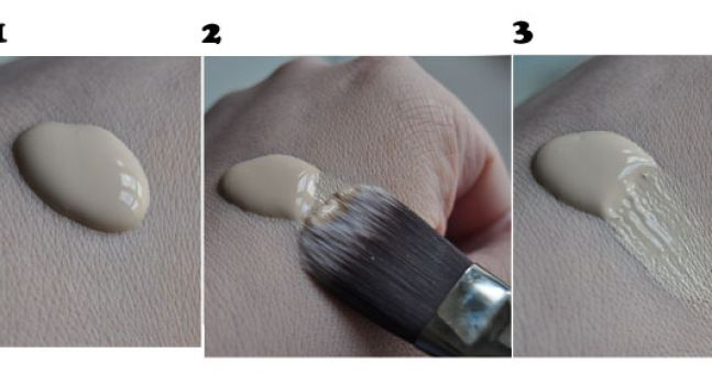 How to: Use a Foundation Brush