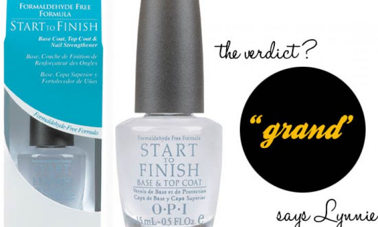 OPI Start To Finish Base & Top Coat Review: Grand | Beaut ie
