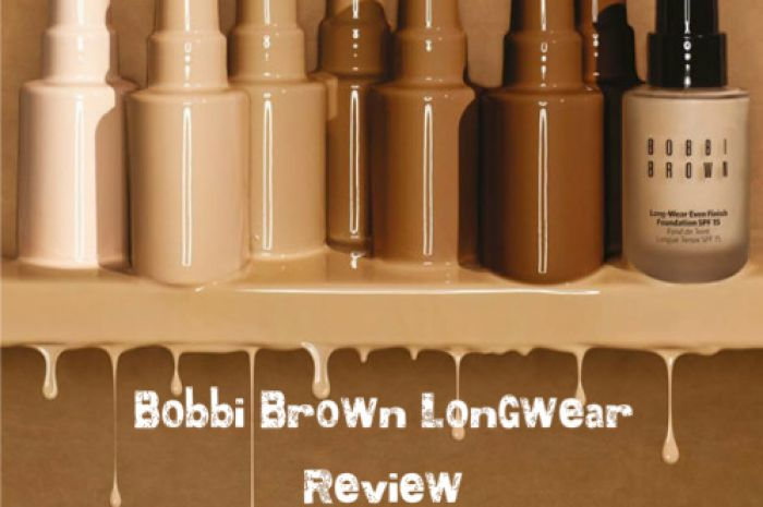 Bobbi Brown Longwear Foundation Is A Winner Really Stays Put And