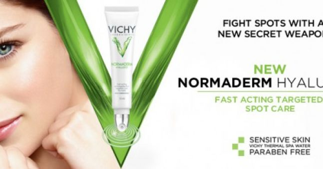 Vichy Hylauspot: A spot wondercure for the touchy-feely?