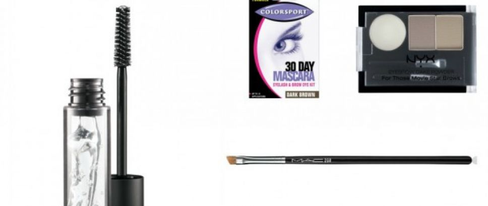 Five Essential Brow Products: NYX, Mac, Crown, Colorsport