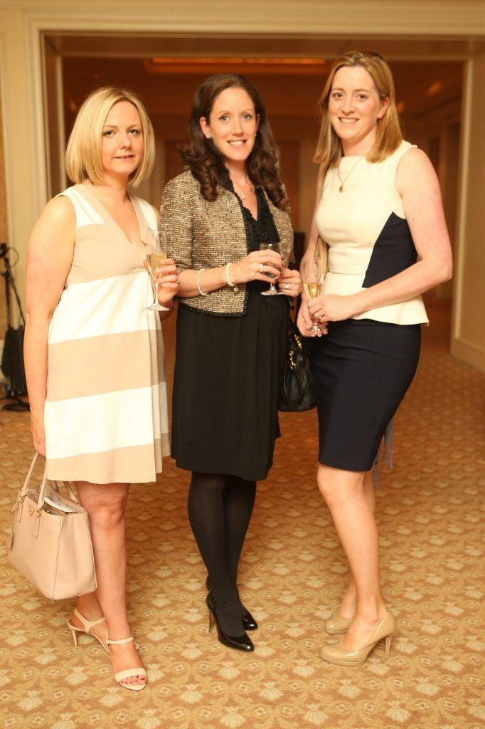 Siobhan Carlin, Laura Merdock and Michelle McGrath