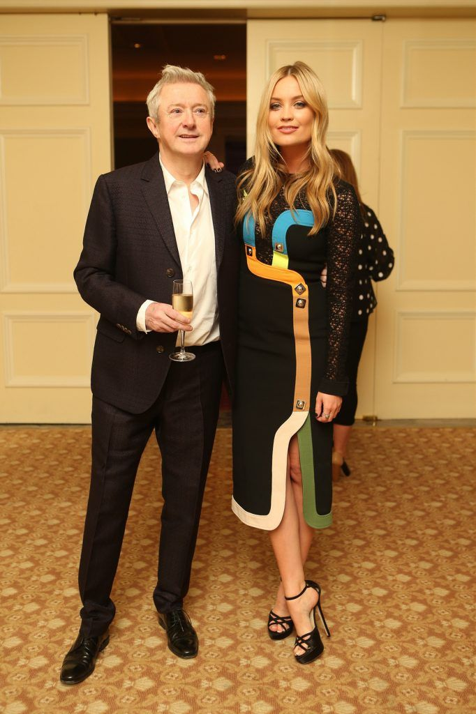 Louis Walsh and Laura Whitmore