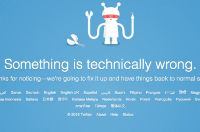 Twitter's been down for the last 20 minutes    | Beaut ie