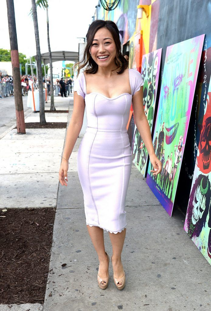 Actress Karen Fukuhara attends the 'Suicide Squad' Wynwood Block Party and Mural Reveal on July 25, 2016 in Miami, Florida.  (Photo by Gustavo Caballero/Getty Images for Warner Bros. Pictures)