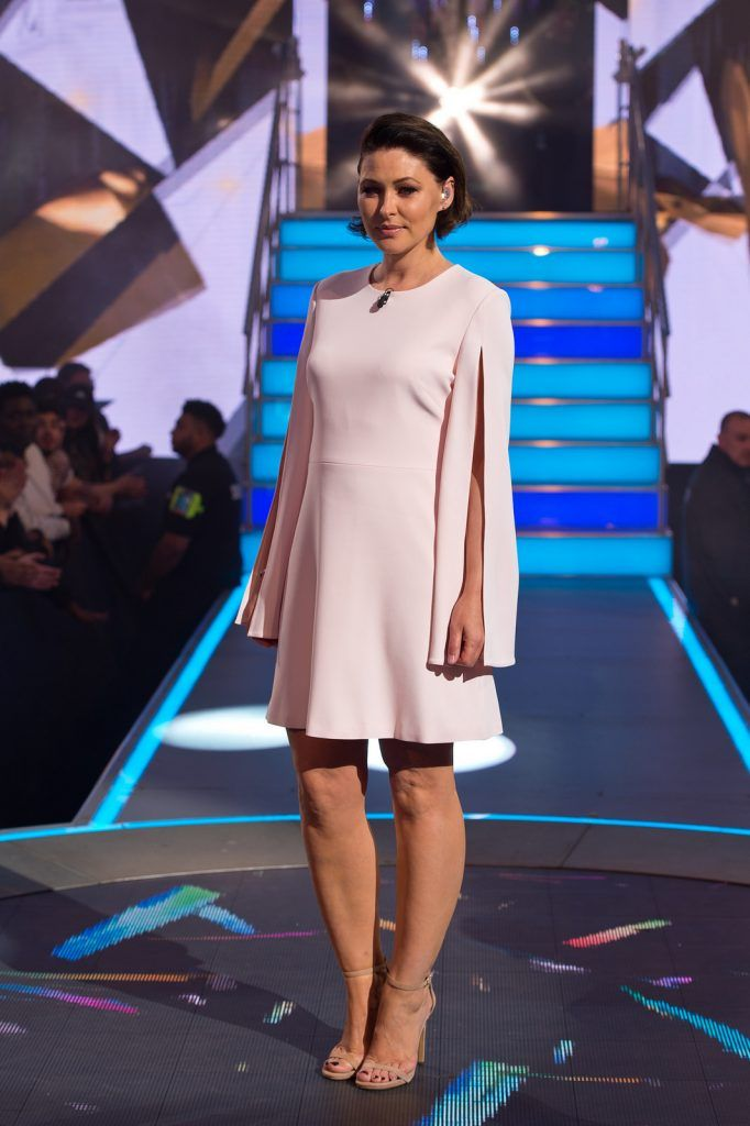 Emma Willis presents as Big Brother launches at Elstree Studios on July 28, 2016 (Photo by Ben A. Pruchnie/Getty Images)