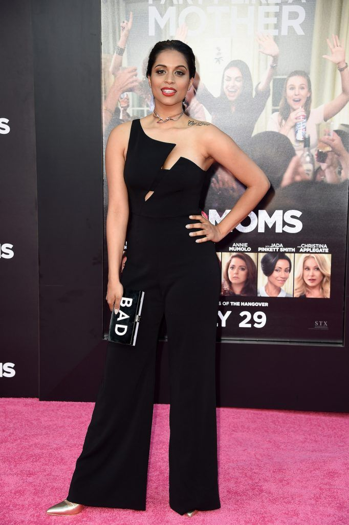 "Lilly Singh attends the premiere of STX Entertainment's ""Bad Moms"" at Mann Village Theatre on July 26, 2016 (Photo by Frazer Harrison/Getty Images)"