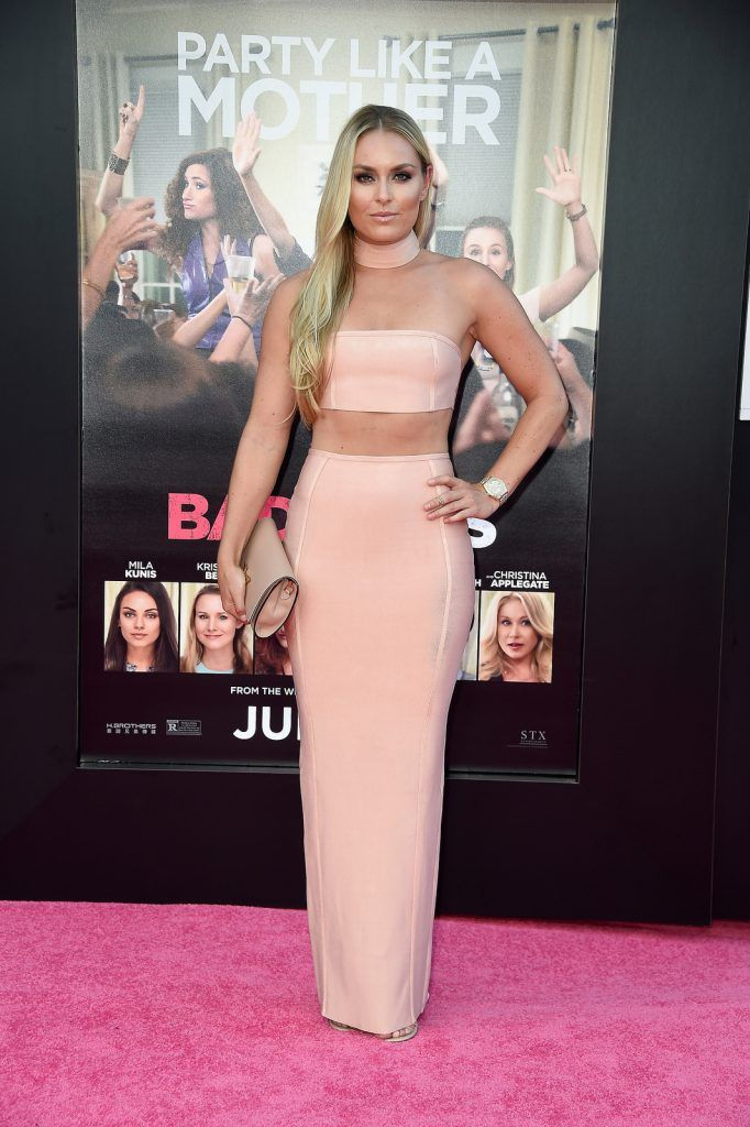 "Lindsay Vonn attends the premiere of STX Entertainment's ""Bad Moms"" at Mann Village Theatre on July 26, 2016 (Photo by Frazer Harrison/Getty Images)"
