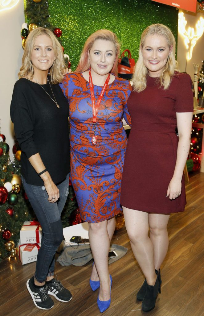 Cassie Stokes, Cliona Kelly and Lorna Weightman attending the 'Gifted' by Arnotts media preview. The new 'Gifted' space will be open from 21st October-photo Kieran Harnett