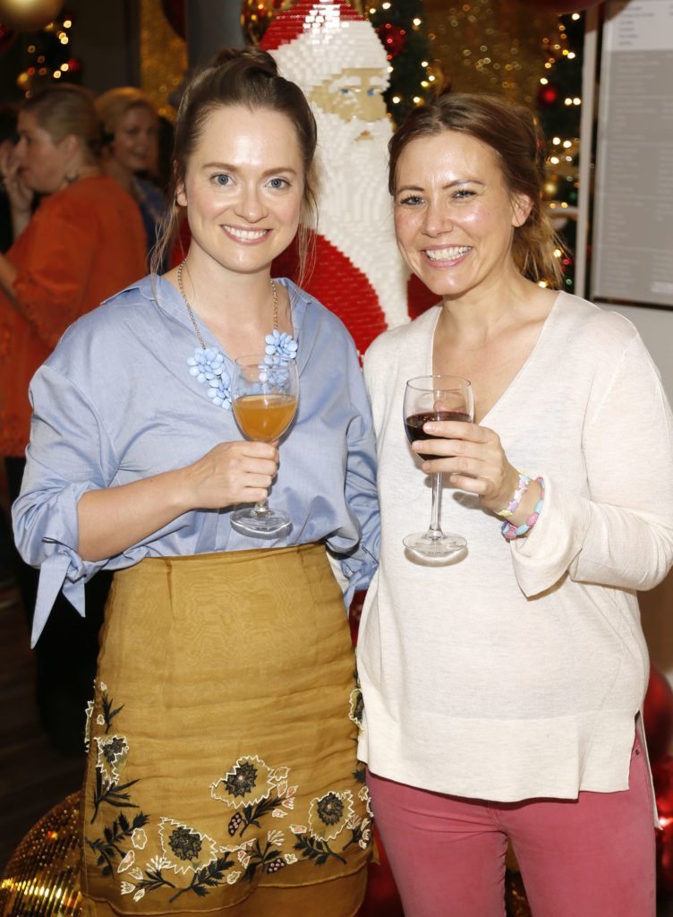 Aoife Murray and Trine Jensen attending the 'Gifted' by Arnotts media preview. The new 'Gifted' space will be open from 21st October-photo Kieran Harnett