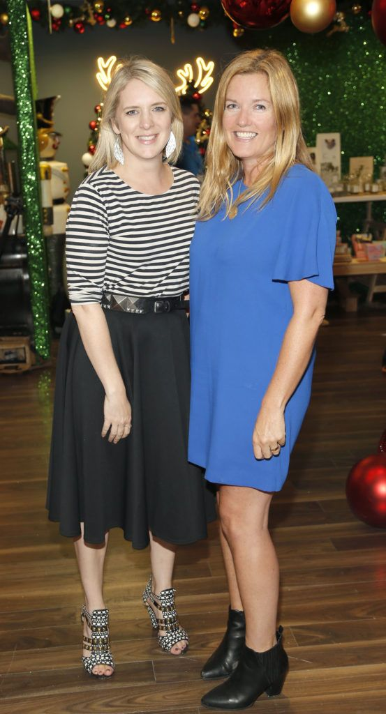 Jennifer Stevens and Lynn Hunter attending the 'Gifted' by Arnotts media preview. The new 'Gifted' space will be open from 21st October-photo Kieran Harnett