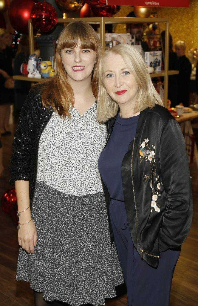 Leslie Ann Horgan and Bairbre Power attending the 'Gifted' by Arnotts media preview. The new 'Gifted' space will be open from 21st October-photo Kieran Harnett