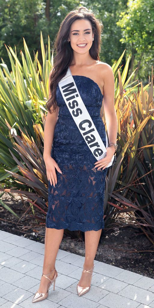 MISS CLARE Lauren Guilfoyle 21 year old Lauren is from Clare. Chartered Physiotherapist and GAA correspondent (video) with Pundit Arena. Pictured at the preview of finalists for in the Miss Ireland 2016 Competition (Pictures by Brian McEvoy).