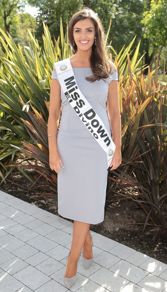 Miss Down Rebecca Padden who is a junior accountant pictured at the preview of finalists for in the Miss Ireland 2016 Competition (Pictures by Brian McEvoy).