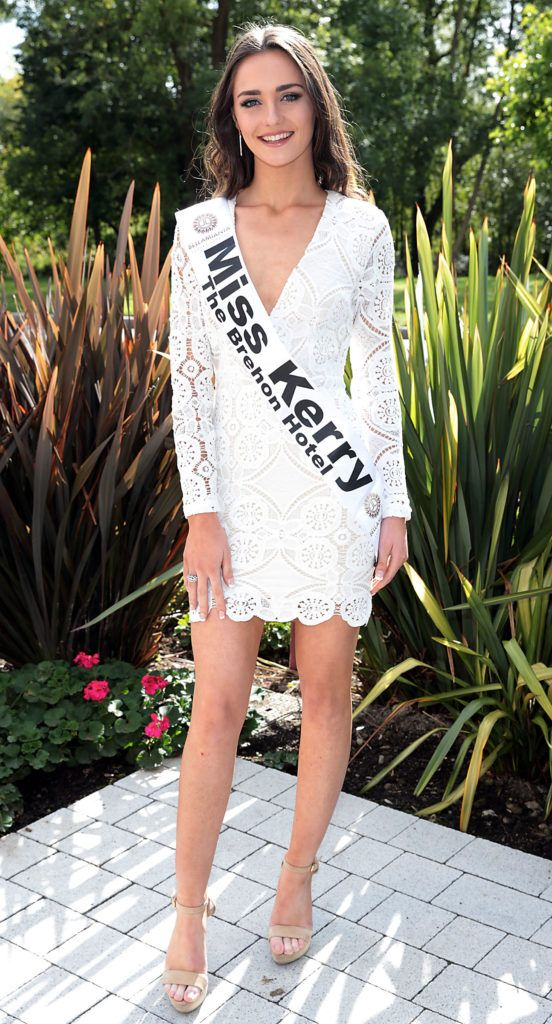 MISS KERRY Niamh Enright 20 year from Listowel Kerry & studying physiotherapy at The University of Limerick pictured at the preview of finalists for in the Miss Ireland 2016 Competition (Pictures by Brian McEvoy).
