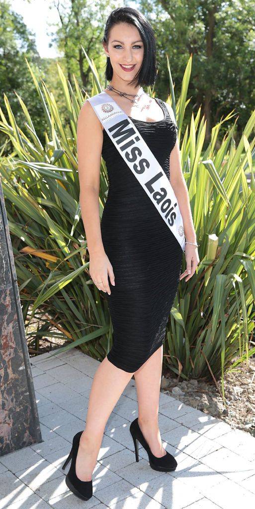 MISS LAOIS Eileen Moore 20 year student studying dance and performing arts. Eileen is from Castletown, Portlaoise pictured at the preview of finalists for in the Miss Ireland 2016 Competition (Pictures by Brian McEvoy).