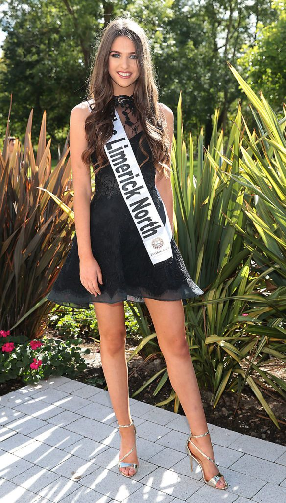 MISS LIMERICK NORTH Ciara Buckley 17 year old Ciara is part time model with Homlan Lee Agency and student. She is from Rhebogue, Limerick. Pictured at the preview of finalists for in the Miss Ireland 2016 Competition (Pictures by Brian McEvoy).