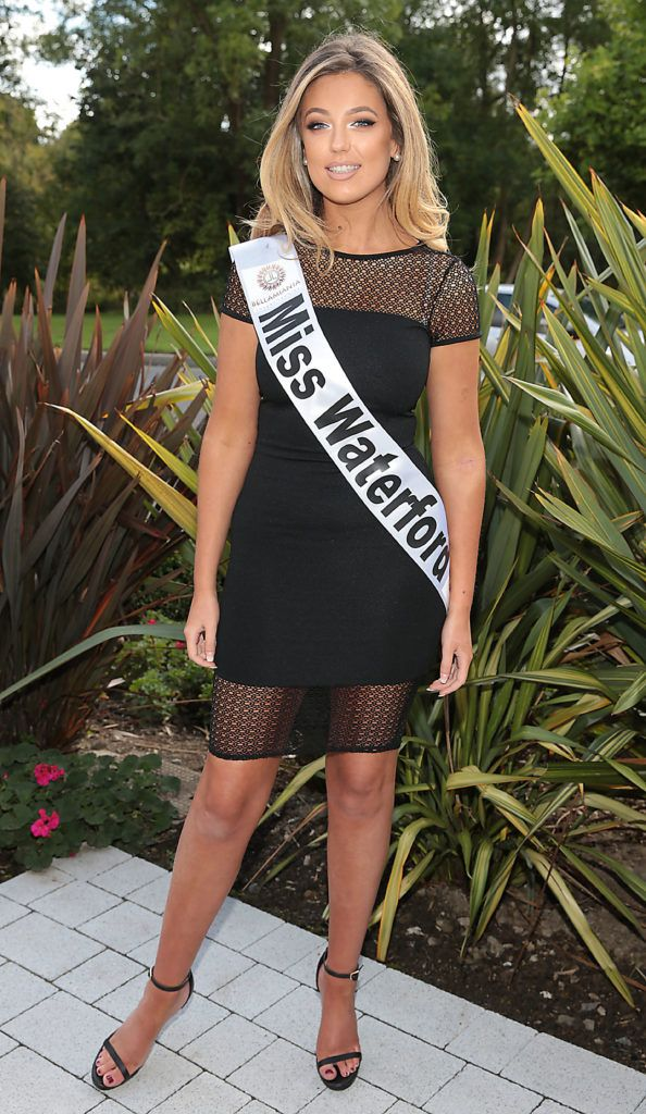 MISS WATERFORD Lauren Croke 21 year of age make up artist from Cork Road, Waterford. Lauren works on marketing side of Art Decor. Pictured at the preview of finalists for in the Miss Ireland 2016 Competition (Pictures by Brian McEvoy).
