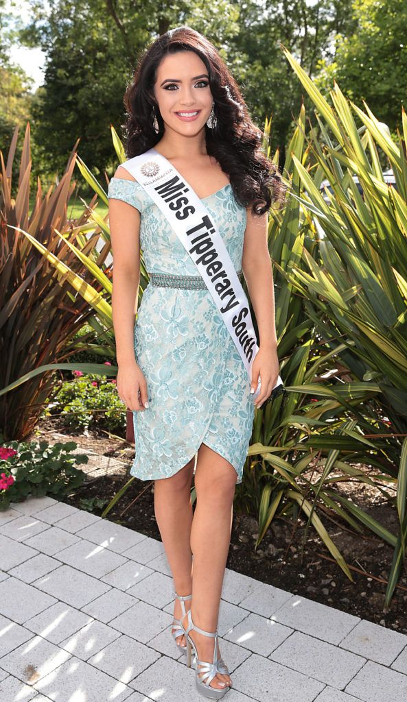 MISS TIPPERARY SOUTH Sinead Connery 22 years of age currently intern Nurse in Cork University Hospital pictured at the preview of finalists for in the Miss Ireland 2016 Competition (Pictures by Brian McEvoy).