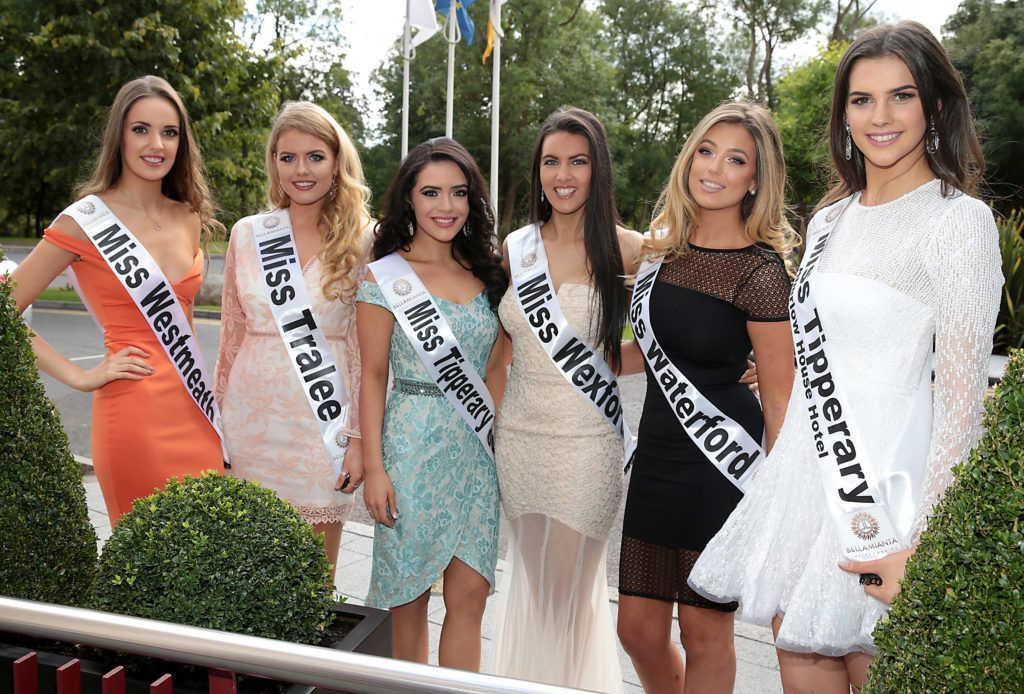 Finalists pictured at the preview of finalists for in the Miss Ireland 2016 Competition (Pictures by Brian McEvoy).