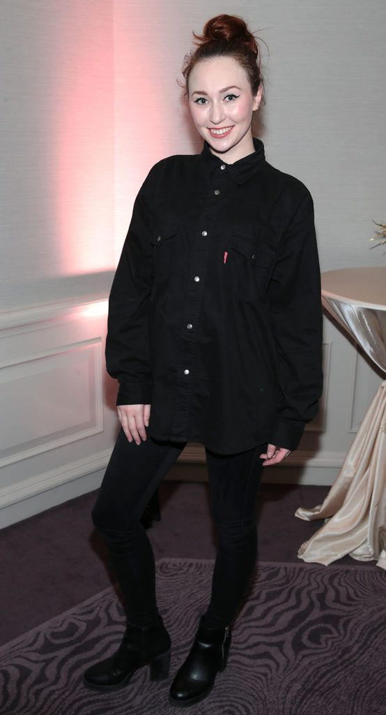 January Russell at the Lancome Christmas Celebration at the Westbury Hotel, Dublin (Pictures: Brian McEvoy).