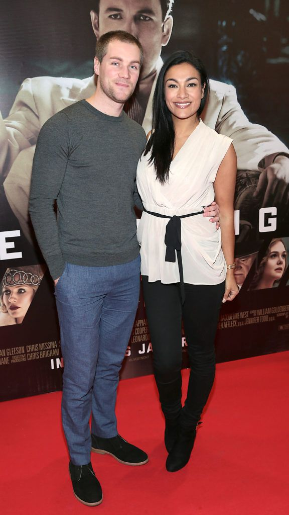 Henry Daly and Gail Kaneswaran at the Irish premiere screening of Ben Affleck's new film  Live by  Night at the Savoy Cinema, Dublin.  Picture:Brian McEvoy