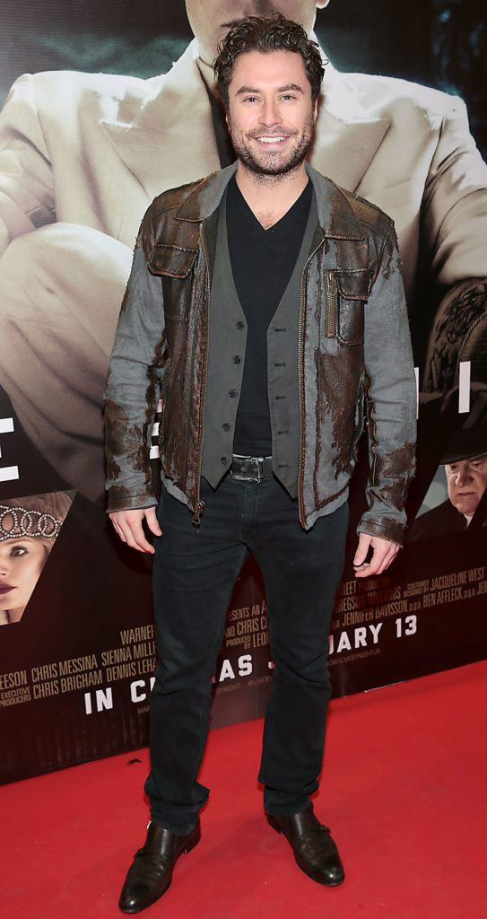 Actor Kevin J Ryan at the Irish premiere screening of Ben Affleck's new film  Live by  Night at the Savoy Cinema, Dublin.  Picture:Brian McEvoy