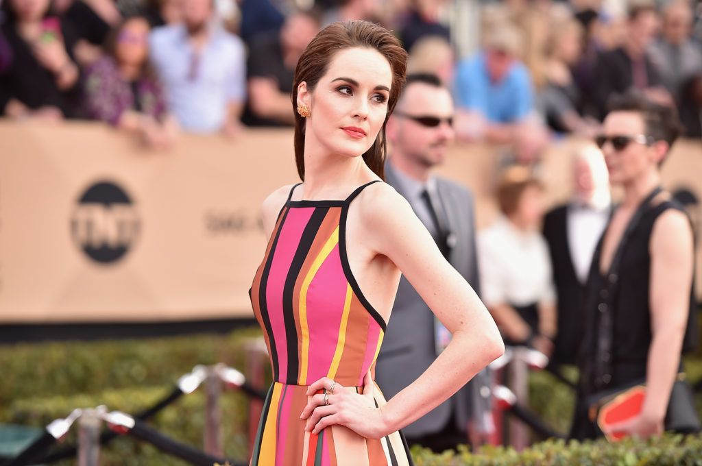 LOS ANGELES, CA - JANUARY 29:  Actor Michelle Dockery attends the 23rd Annual Screen Actors Guild Awards at The Shrine Expo Hall on January 29, 2017 in Los Angeles, California.  (Photo by Alberto E. Rodriguez/Getty Images)