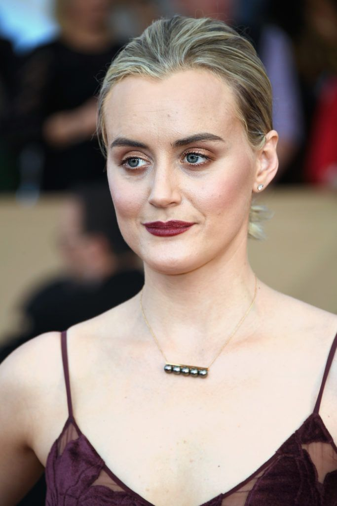 LOS ANGELES, CA - JANUARY 29:  Actor Taylor Schilling attends The 23rd Annual Screen Actors Guild Awards at The Shrine Auditorium on January 29, 2017 in Los Angeles, California. 26592_008  (Photo by Frazer Harrison/Getty Images)