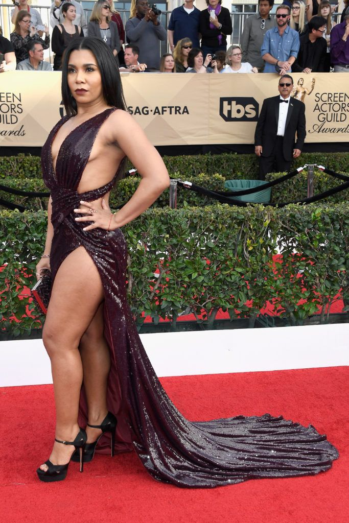 LOS ANGELES, CA - JANUARY 29:  Actor Jessica Pimentel attends The 23rd Annual Screen Actors Guild Awards at The Shrine Auditorium on January 29, 2017 in Los Angeles, California. 26592_008  (Photo by Frazer Harrison/Getty Images)