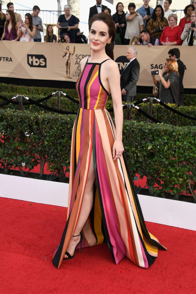 LOS ANGELES, CA - JANUARY 29:  Actor Michelle Dockery attends The 23rd Annual Screen Actors Guild Awards at The Shrine Auditorium on January 29, 2017 in Los Angeles, California. 26592_008  (Photo by Frazer Harrison/Getty Images)
