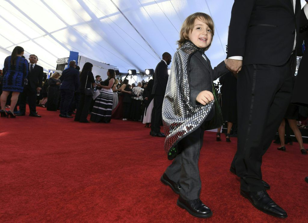 Jeremy Maguire arrives at the 23rd Annual Screen Actors Guild Awards at The Shrine Auditorium on January 29, 2017 in Los Angeles, California. (Photo MARK RALSTON/AFP/Getty Images)