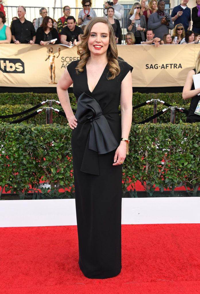 LOS ANGELES, CA - JANUARY 29:  Champagne Tattinger Global Spokesperson and Artistic Director Vitalie Taittinger attends The 23rd Annual Screen Actors Guild Awards at The Shrine Auditorium on January 29, 2017 in Los Angeles, California. 26592_008  (Photo by Frazer Harrison/Getty Images)