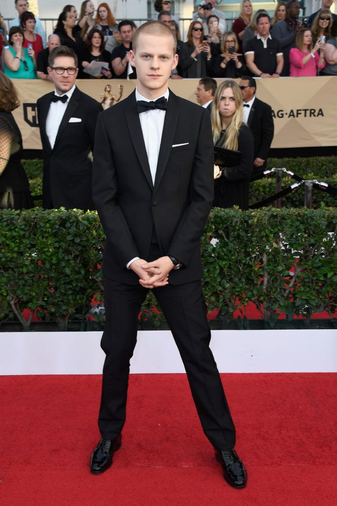 LOS ANGELES, CA - JANUARY 29:  Actor Lucas Hedges attends The 23rd Annual Screen Actors Guild Awards at The Shrine Auditorium on January 29, 2017 in Los Angeles, California. 26592_008  (Photo by Frazer Harrison/Getty Images)
