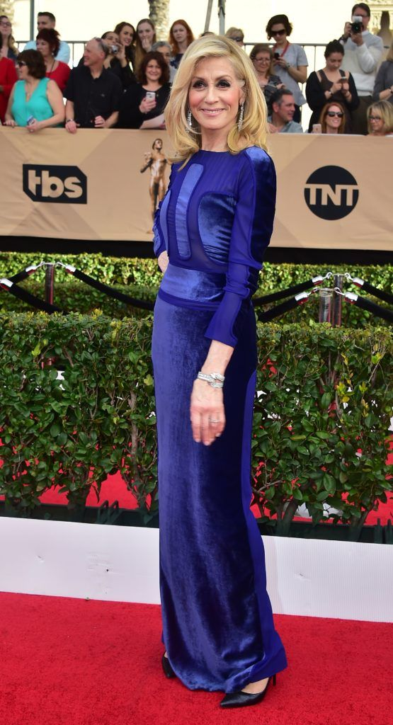 Actress Judith Light arrives for the 23rd Annual Screen Actors Guild Awards at the Shrine Exposition Center on January 29, 2017, in Los Angeles, California.  (Photo FREDERIC J. BROWN/AFP/Getty Images)