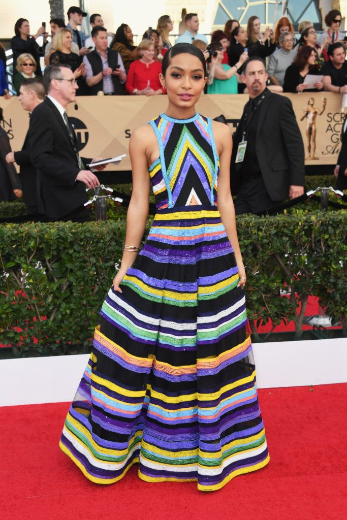 LOS ANGELES, CA - JANUARY 29:  Actress Yara Shahidi attends the 23rd Annual Screen Actors Guild Awards at The Shrine Expo Hall on January 29, 2017 in Los Angeles, California.  (Photo by Alberto E. Rodriguez/Getty Images)